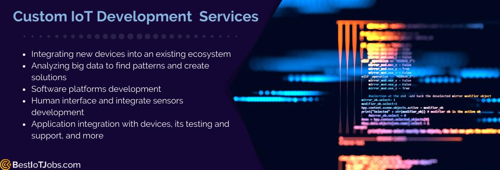 custom iot development solutions