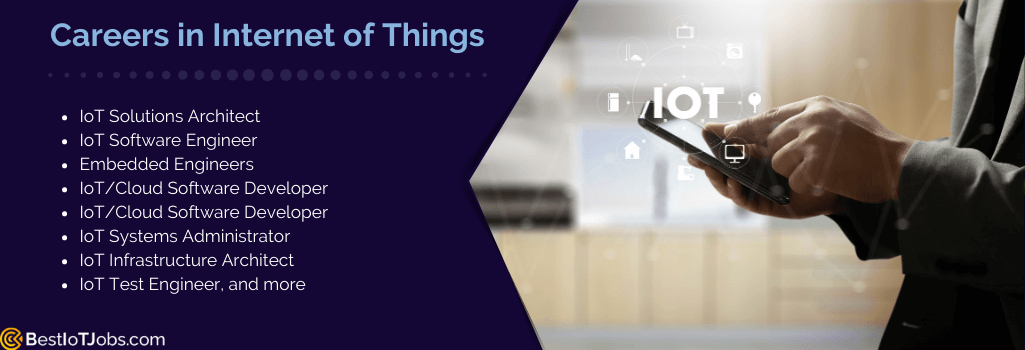 job types for iot developer
